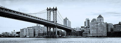 Brooklyn Bridge Poster by Photography Art