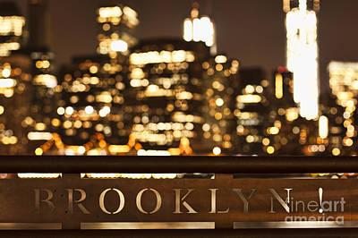 Brooklyn Bubbly Poster by Andrew Paranavitana
