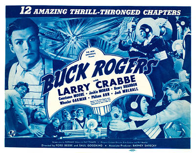 Buck Rogers, Top Left, Bottom Right Poster by Everett