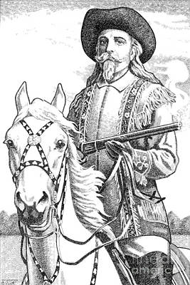 Buffalo-bill-cody Poster by Gordon Punt