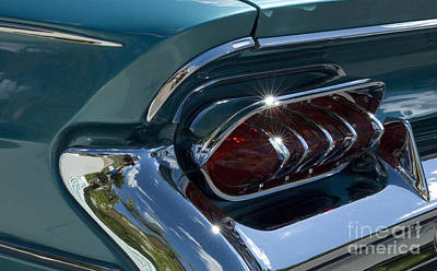 Buick Electra Tail Light Assembly Poster by Bob Christopher