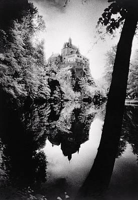 Burg Kriebstein Poster by Simon Marsden
