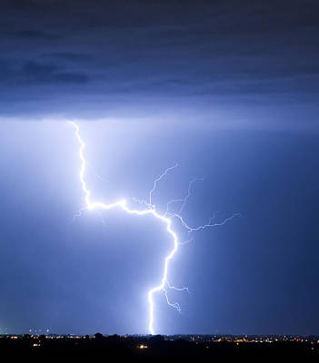 C2g Lightning Strike Poster by James BO  Insogna