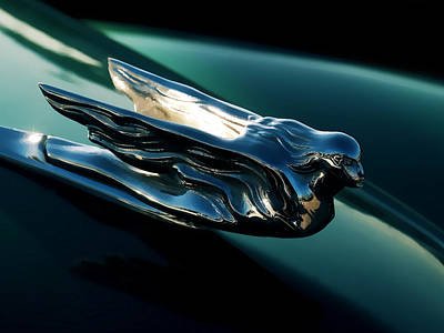 Cadillac Hood Angel Poster by Douglas Pittman