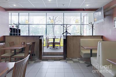 Cafe Dining Room Poster by Magomed Magomedagaev