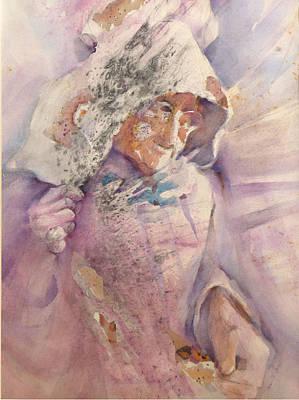 Calico Quaker Poster by Joan  Jones