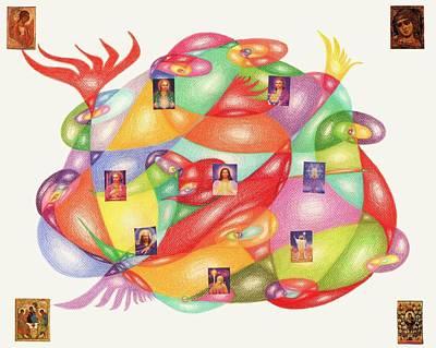 cancer surrendering to Love Poster by Tatyana Zverinskaya