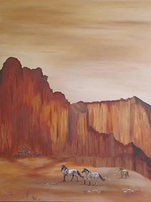 Canyon Trio Poster by Melody Perez