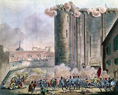 Capture Of The Bastille Poster by Granger