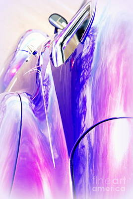 Car Reflections Poster by Susanne Van Hulst