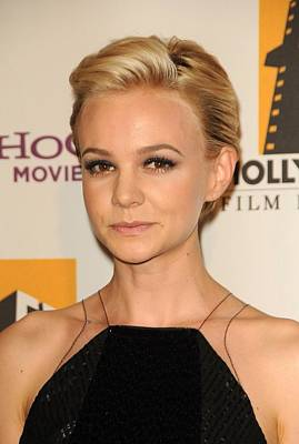 Carey Mulligan At Arrivals For 15th Poster by Everett