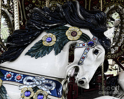 Carousel Horse - 9 Poster by Paul Ward
