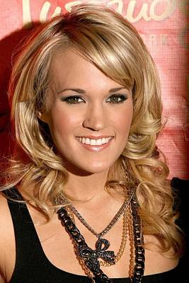 Carrie Underwood At In-store Appearance Poster by Everett