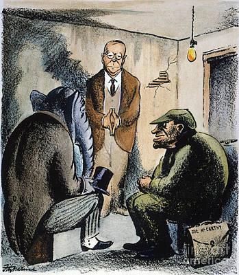 Cartoon: Mccarthyism, 1952 Poster by Granger