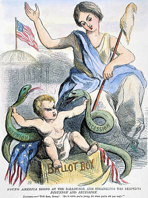 Cartoon: Young America Poster by Granger