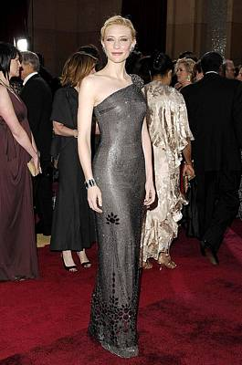 Cate Blanchett Wearing Armani Prive Poster by Everett