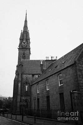 Catholic Cathedral Of St Mary Of The Assumption Aberdeen Scotland Uk Poster by Joe Fox