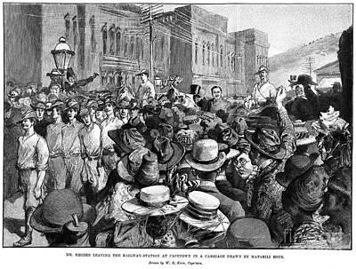 Cecil John Rhodes Poster by Granger