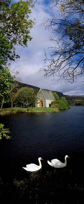 Chapel At Gougane Barra, Co Cork Poster by The Irish Image Collection