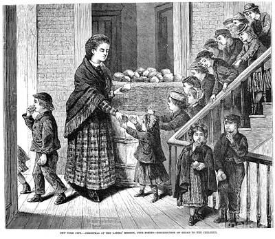 Charities: New York, 1871 Poster by Granger