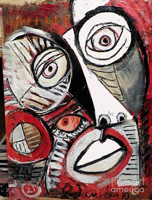 Chasing Picasso Poster by Robert Daniels