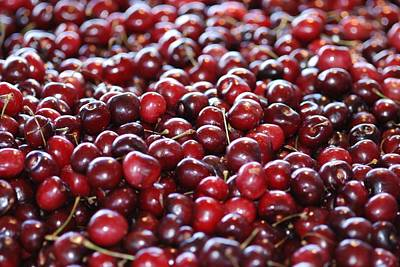 Cherry Poster by Francois Cartier