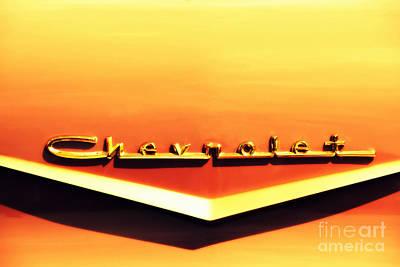 Chevrolet Poster by Susanne Van Hulst