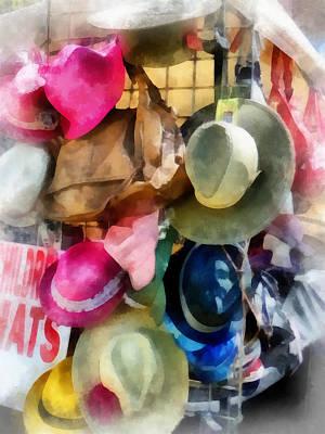 Children's Hats Poster by Susan Savad