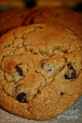 Chocolate Chip Comfort Poster by Susan Herber