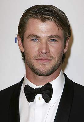 Chris Hemsworth At The After-party Poster by Everett