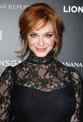 Christina Hendricks Wearing A Dolce & Poster by Everett