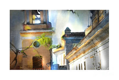 Church Bell Tower Cuba Poster by Bob Salo