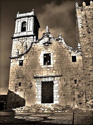 Church Of The Virgen De La Ermitana - Peniscola  Poster by Juergen Weiss