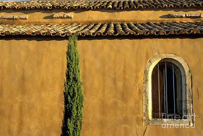 Church. Provence Poster by Bernard Jaubert