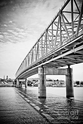 Cincinnati Bridge Taylor Southgate Poster by Paul Velgos