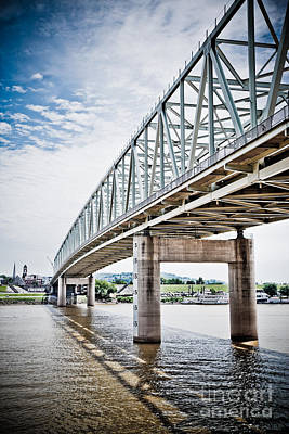 Cincinnati Taylor Southgate Bridge Poster by Paul Velgos