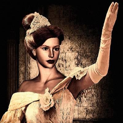 Cinderella Poster by Lourry Legarde