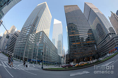 Citigroup Center From Park Avenue I Poster by Clarence Holmes