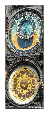 Citymarks Prague Poster by Roberto Alamino