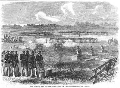 Civil War: Execution, 1863 Poster by Granger