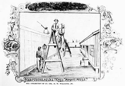 Civil War: Union Prison Poster by Granger