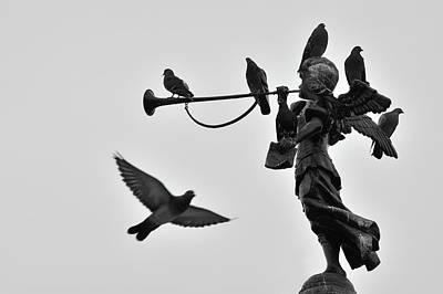 Clarinet Statue Poster by CarlosAlbertoPhoto
