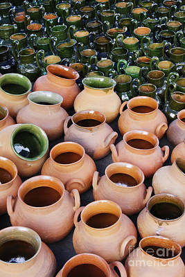 Clay Pots Poster by Jeremy Woodhouse
