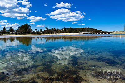 Clouds Over Narrabeen Lake Poster by John Buxton