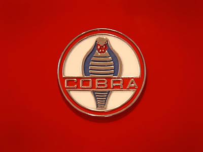 Cobra Emblem Poster by Mike McGlothlen