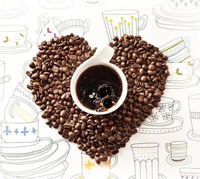 Coffee Break Poster by Ivan Vukelic