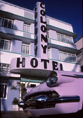 Colony Hotel Poster by Bob Whitt