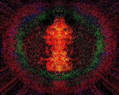 Color Burst Poster by Christopher Gaston