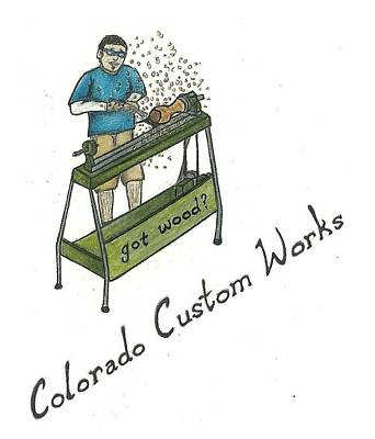 Colorado Custom Works Design Poster by Steve Weber