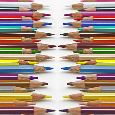 Coloured Pencil Poster by Joana Kruse